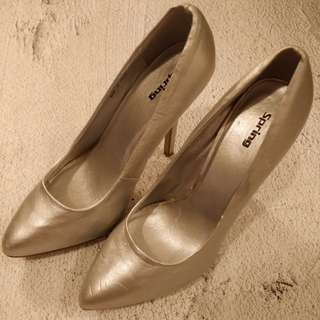 Call It Spring women stilleto high heels silver 37.5