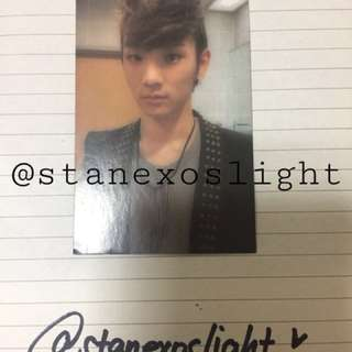 SHINee's Key Photocard from Lucifer