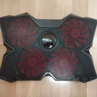 4 fan 1200 rpm Laptop Cooling pad