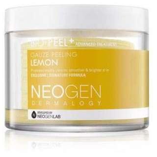 Neogen dermalogy bio peel gauze peeling lemon share in jar (5 pads)