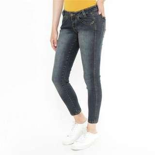 Jeans Wanita Mobile Power Ladies Angel Cut (J2678S)