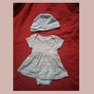 Baby dress with hat for only 50 pesos!!!