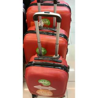 3-In-1 Hard Case Shell Curve Shape Luggage [BEST QUALITY]