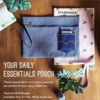 Starbucks Pouch A4
