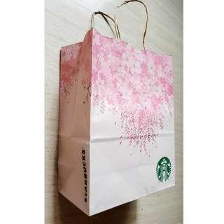 BN Starbucks - Sakura Limited Edition Paper Bag (Brown)