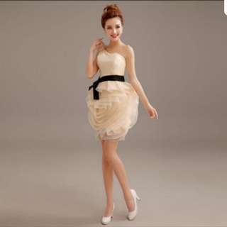 Cocktail dress (champagne color)
