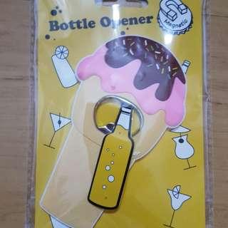 Ice cream magnetic bottle opener