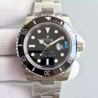 Rolex Submariner 116610LN-97200 date Stainless Steel Black Automatic 勞力士黑水鬼