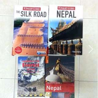 Travel guides (S$6-12)