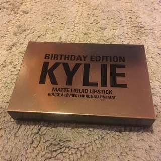 Authentic Mini Birthday Edition Kylie Matte Liquid Lipstick