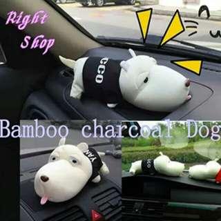 Bamboo charcoal Deodorant Purify Air Car Dog Panda Piglet Bag Air Freshener Lessen Radiation Cars