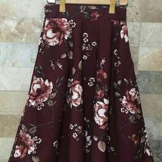 Midi Skirt with Pocket