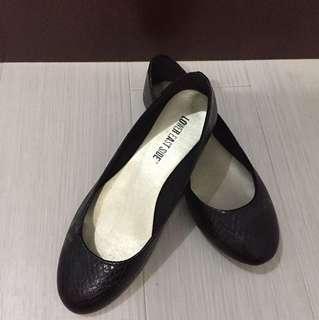 Flat Shoes Hitam (jarang dipakai)