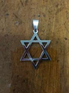 Stainless Steel Pendant - Star of David