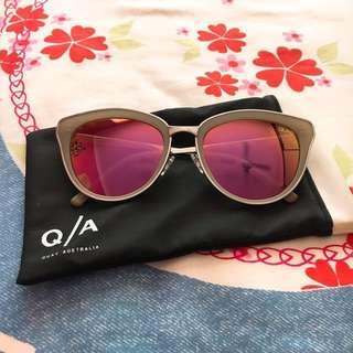 Quay Pretty Little Thing Pink Sunglasses