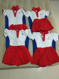 Sparkle tot uniforms for girl