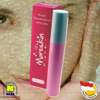 Moreskin magic lip gloss