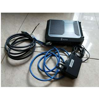 Cisco WiFi router and modem from Starhub
