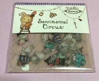 Sentimental Circus Sticker Set