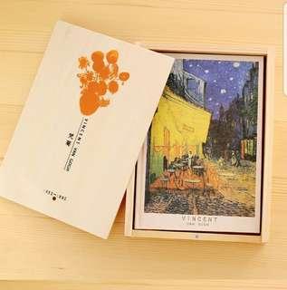 Van Gogh vintage notebook