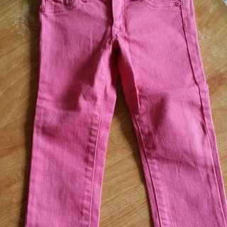 全新 童裝 gap 尺碼110 窄管褲