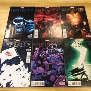 Marvel Infinity Comic Set