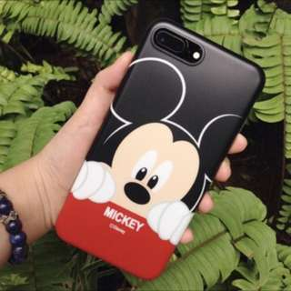 JUAL SOFT CASE MURAH Disney Mickey Mouse for iPhone 7/8 Plus