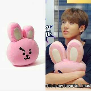 [ READY STOCK ] BT21 Cooky 42cm Face Cushion