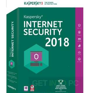 License Kaspersky Internet Security Asli - 140 Hari