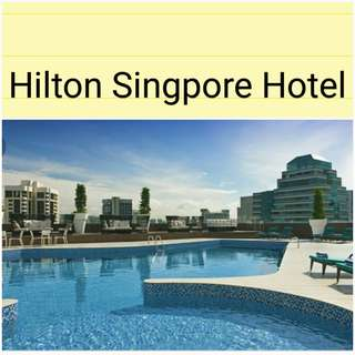 Hilton Singpore Room From S$199(including breakfast & Executive  Lounge access)