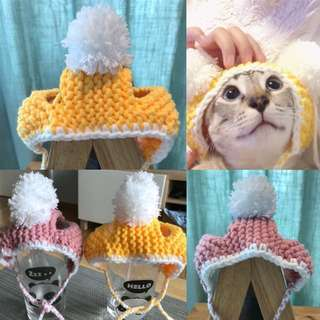 Hand made pet hat customised
