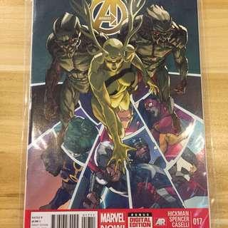 Marvel Avengers #17