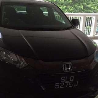 Uber relief(Honda vezel hybrid)