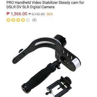 Steadyvid EX Video Stabilizer for DSLR with mobile holder