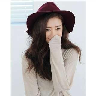 韓國毛呢帽