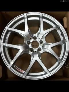 "SSR GTV03  18""inch (5x100PCD) silver only"