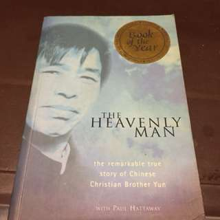 The Heavenly Man the remarkable true story of chinese chrsitian brother Yun