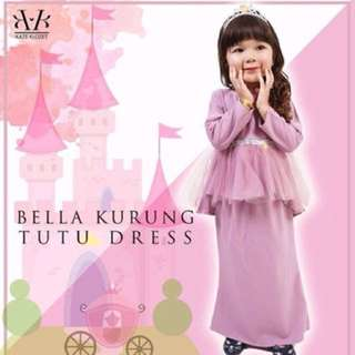 Kaze klozet bella kurung tutu dress