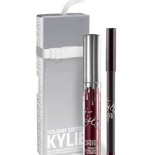 Kylie lip kit limited edition holiday collection - vixen
