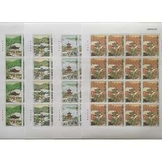 2004-27 中国名亭 大版 邮票(全同号)