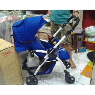 PROMO Stroller Cocolatte Q6 Amber Stroler Kereta Dorong Bayi Roda 4