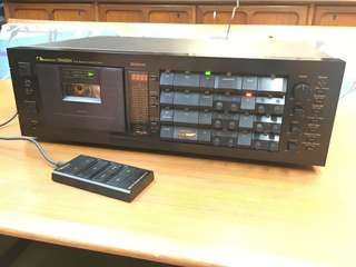 Nakamichi Dragon cassette deck with remote