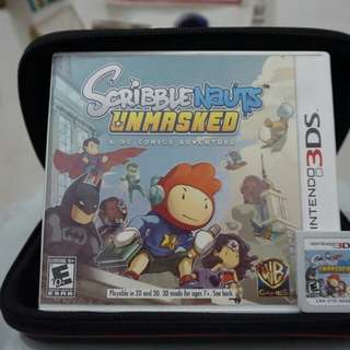 Scribblenauts Unmasked for Nintendo 3DS / 2DS
