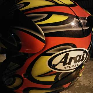 Arai Ram4 Edward Tribute Original