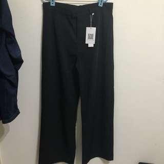 高腰直筒寬褲❤️