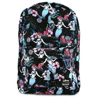 Loungefly x Ariel Floral Backpack