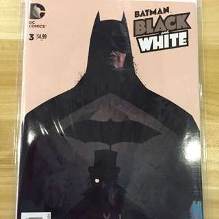 DC Batman Black & White #3