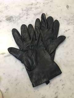 Promod Leather Gloves