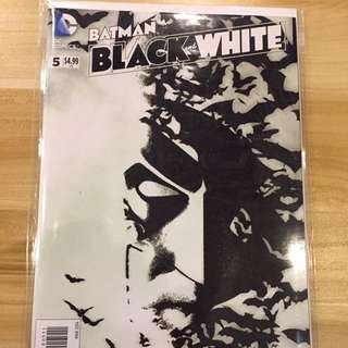 DC Batman Black & White #5