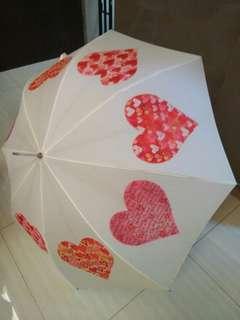 Newly wed umbrellas